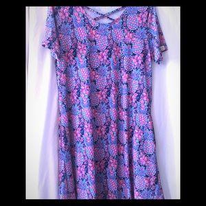 🍍SIMPLY SOUTHERN 🍍 Swing dress L